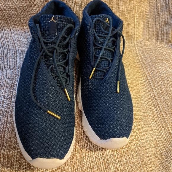 Nike Air Jordan knit basketball shoes
